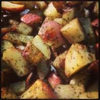 grilled redskin potatoes