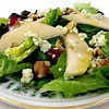 Salad with pears blue cheese & walnuts