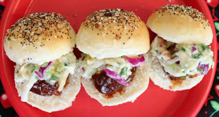 BBQ+Meatball+Sliders
