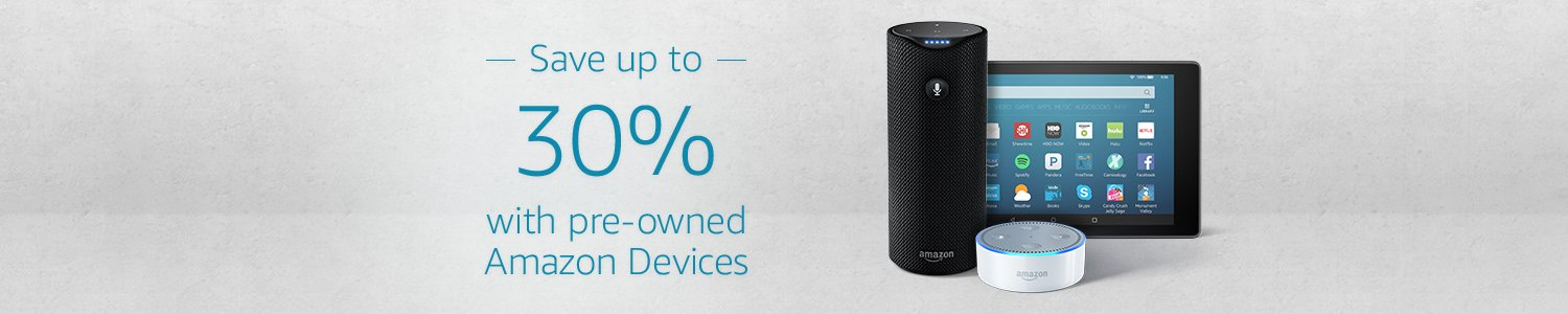 amazon pre owned devices ad